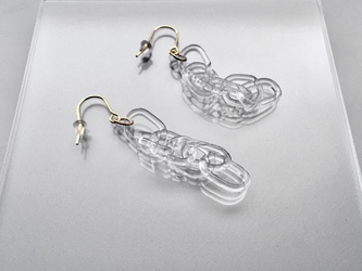 -Double cable chain- pierce/earringの画像