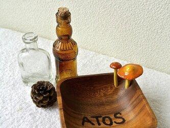 ATOSシリーズ キノコNO森の始まり小物入れの画像