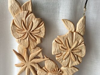 wooden flowers mix naturalの画像
