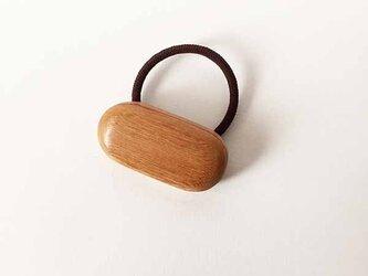 ケヤキの木のヘアゴム *クッキーサンド*の画像