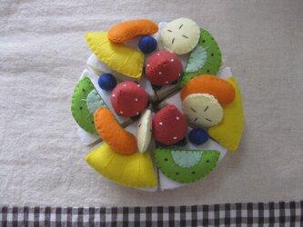 フルーツケーキの画像