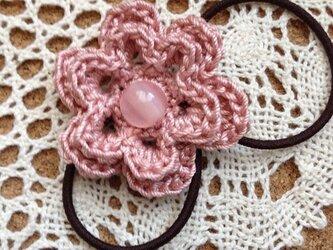 お花のモチーフゴム~その4の画像