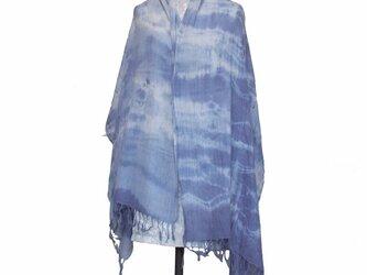 綿広巾ストール 3 の画像