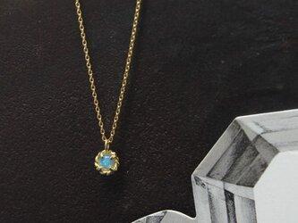 K18 オパール ネックレスの画像