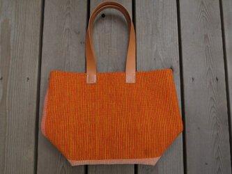 裂き織りバッグ NO15の画像