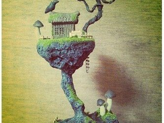 仙人の住む迷い家の画像