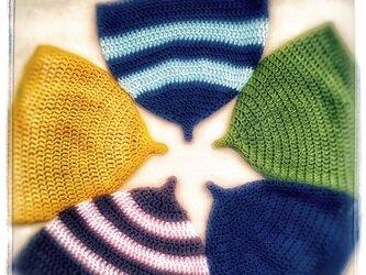 コットンのどんぐり帽子《大人普通サイズ》の画像