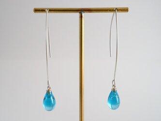 GLASS Rain drop pierceの画像