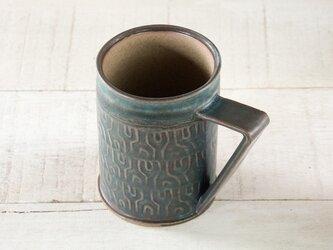 ビアカップ - graph(瑠璃釉)330mlの画像