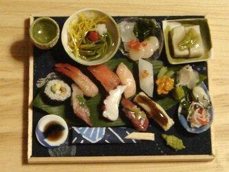 ★握り寿司&亀の和菓子の画像