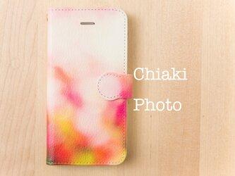 【全機種対応】Pink garden*iphone/Androidスマホケース【手帳型】の画像