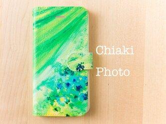 【全機種対応】Green*iphone/Androidスマホケース【手帳型】の画像