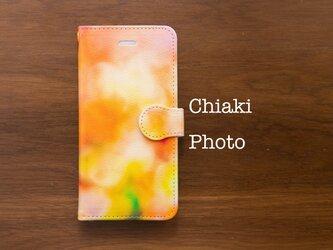 【全機種対応】Orange garden*iphone/Androidスマホケース【手帳型】の画像