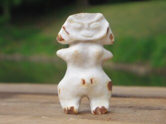 【角偶】M/鹿角から削り出した人形(ひとがた)/お守りの画像