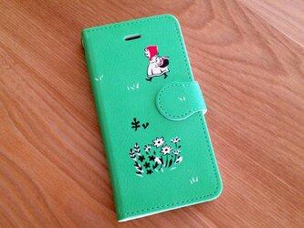 切り絵のiPhoneケース「あかずきん」★送料無料★の画像
