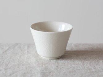 【再入荷】湯呑み碗 白 貫入の画像