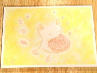 [2枚組]『やさしさの花』ポストカードの画像