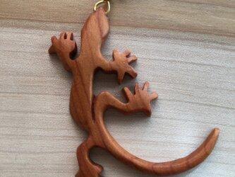 gecko pierced earringの画像