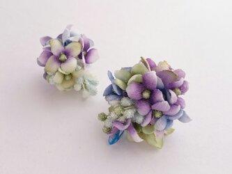 hydrangea no.1 (ピアス)の画像