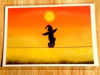 [2枚組]『ゆらゆら・夕暮れ』ポストカードの画像