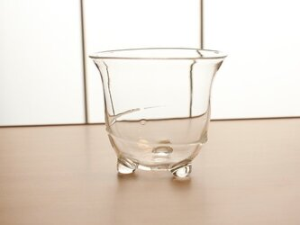 『冷茶グラス白』耐熱ガラスの画像
