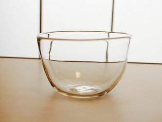 『ガラスのボウル小』耐熱ガラスの画像