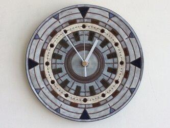 幾何学文様壁掛け時計(大)(No.301)の画像