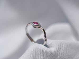 ルビー 変形Ring 82の画像