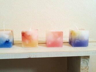 【再販】cube candle set キューブキャンドルセットの画像