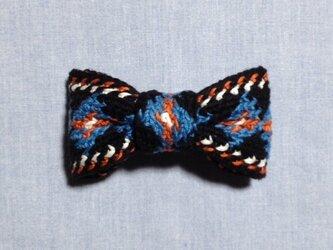【セール】手編みリボンバレッタの画像