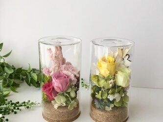 母の日プレゼント♡ Glass arrange「受注制作」の画像