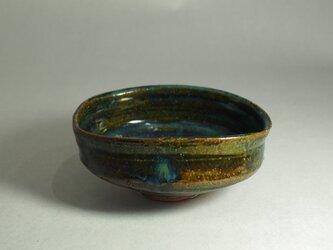 「 貝紋 総織部 沓型、抹茶 茶碗 」見どころ沢山のお抹茶 茶碗の画像
