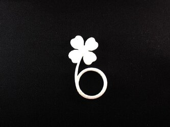 Four Leaf Clover ringの画像