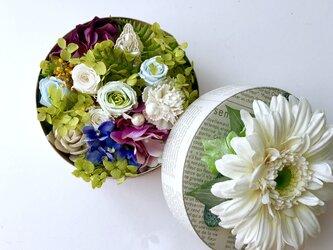ご結婚お祝いや敬老の日プレゼント♡flower boxの画像