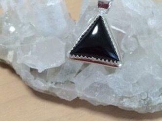 Sweettrap三角ブラックトリマリントップの画像