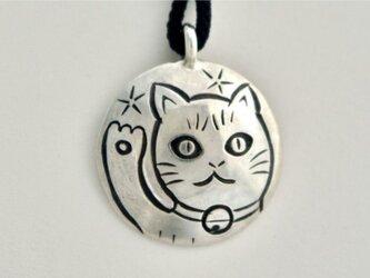 招き猫ペンダントの画像