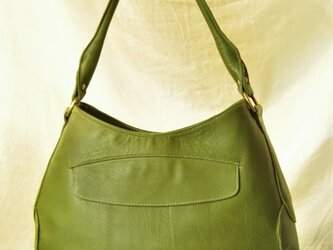 ball bag greenの画像