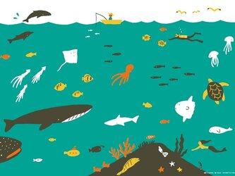 ポスター「海」の画像