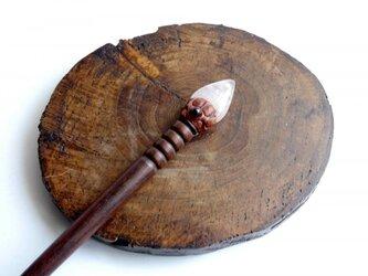ローズクォーツヘアスティック(カンザシ) 534の画像