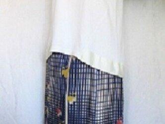 Price downしました!アイビーとチェックのフレアースカートの画像