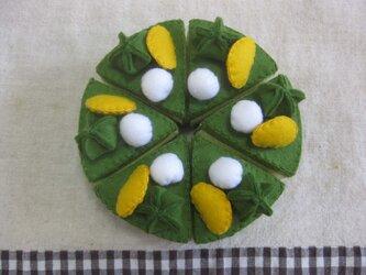 抹茶ケーキの画像