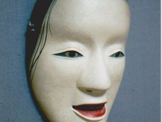 "Noh-mask/ No.04 ""deigan""の画像"