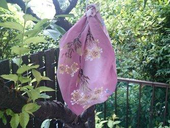 浴衣地大津袋(あずま袋) 寛斎ピンクの画像