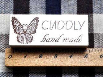 蝶cuddly handmadeスタンプ・はんこの画像