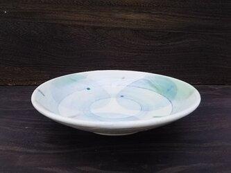 ぼんぼり柄とリングの中鉢  21.8cmの画像