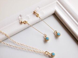 Earrings turquoiseの画像