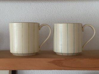 mug ーgreen&blueーの画像