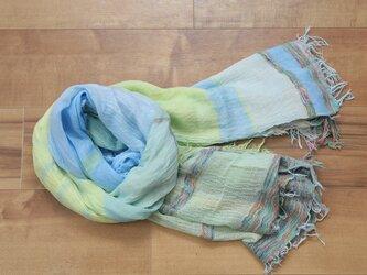 roots shawl BIG cotton100 16-a09の画像