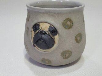 フレンチブルドッグ(フォーン)フリーカップの画像