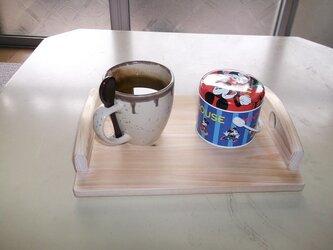 ミニヒノキ手作りトレイの画像